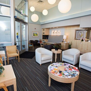 Chaska waiting area