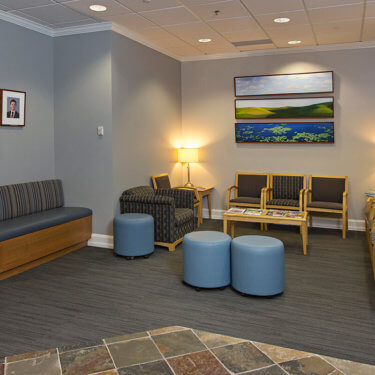 Maple Grove Waiting Area
